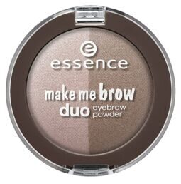 Тени для бровей Essence make me brow duo eyebrow powder №01 blonde