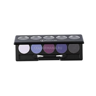 Палетка теней 5 в 1 Flormar COLOR PALETTE №10 Сиреневая гармония