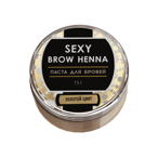 Паста для бровей Sexy Brow Henna Gold Eyebrow Paste, золотая